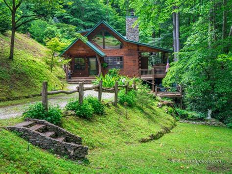 Great Smoky Mountains Log Cabin One Of A Hollow Nestled In The Great Vrbo