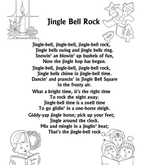 merry christmas songs lyrics jingle bell jingle bell