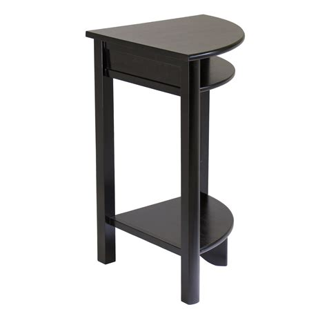 accent table storage corner accent table with storage various options for