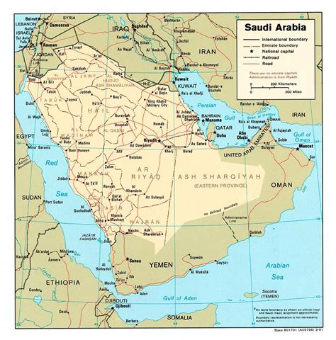 arabian peninsula map political map of arabian peninsula