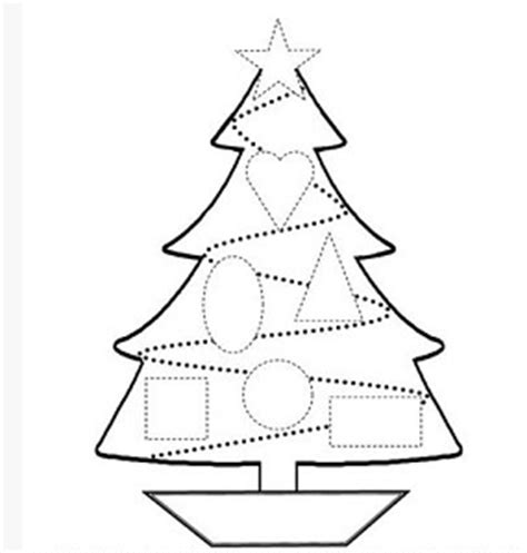 free printable christmas tree shapes free pinterest make a santa reindeer elf christmas tree