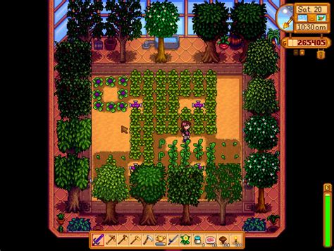 fruit trees stardew valley request greenhouse trees mod chucklefish forums