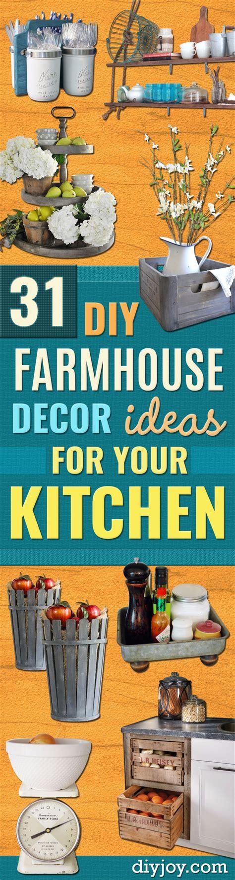 diy kitchen wall ideas 31 diy farmhouse decor ideas for your kitchen
