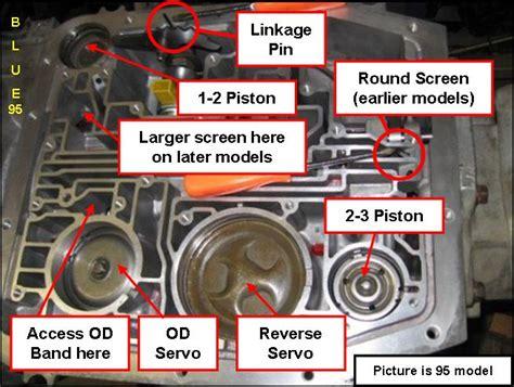 2 3 acuumulator piston 4r70w transmission ford truck