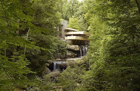 water falling file fallingwater also known as the edgar j kaufmann sr