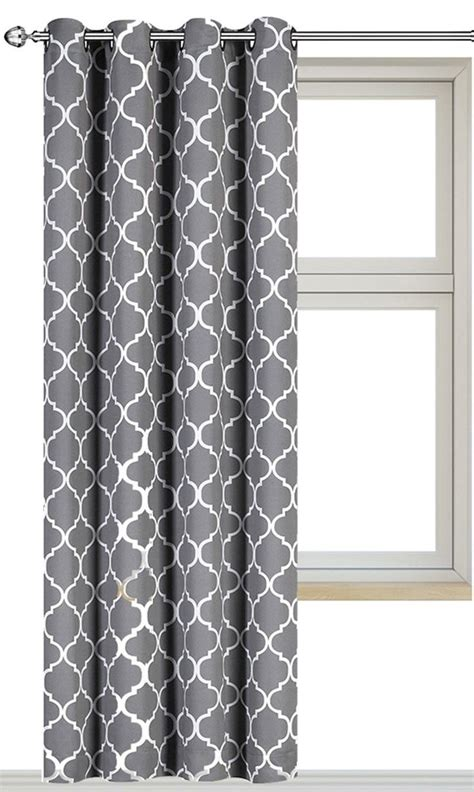 gray patterned curtains light gray patterned curtains unbelievable printed windows