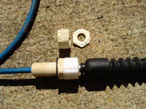 boat steering cable breaks jet pump polaris pwc knowledge