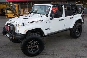 custom jeep wrangler rubicon white 159905 half doors
