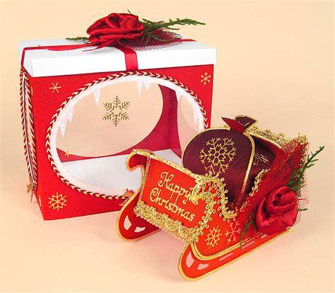 make card free free card template santa s magical sleigh 3d