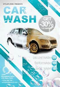 Car Wash Flyer Template by Car Wash Psd Flyer Template Style Flyers Psd Templates