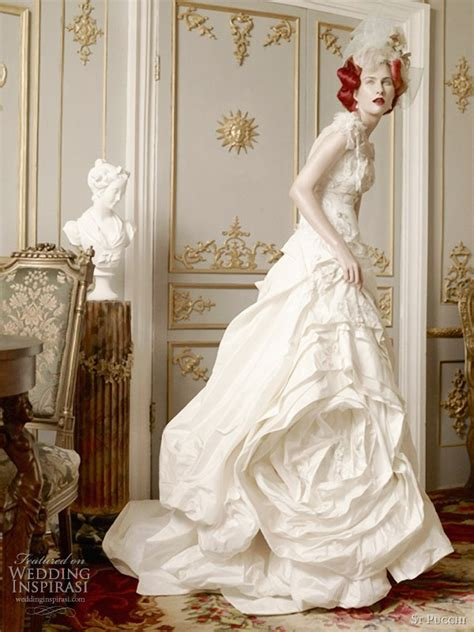 Wedding Couture by St Pucchi Couture Wedding Dresses 2012 Wedding Inspirasi