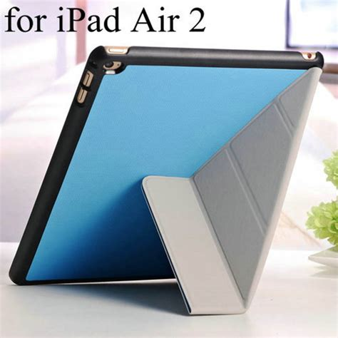Smart Air 1 5 9 7 Inch Flipcover Autoloc 1305 aliexpress buy 4 shapes magnetic stand pu leather for air 2 ii 9 7 inch flip