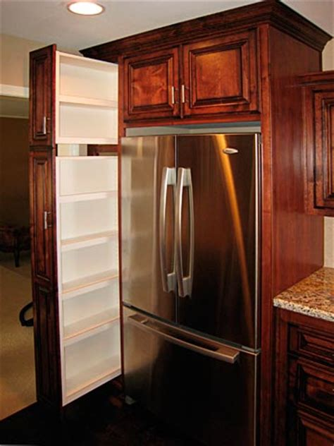 kitchen refrigerator cabinet custom kitchen cabinets from darryn s custom cabinets