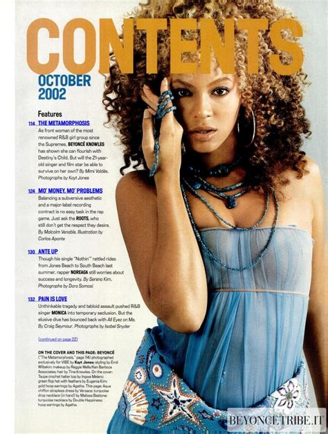 Beyonce On May Cover Of Vibe by 2beyonc 233 On The Cover Of Vibe Magazine 2002 Beyonc 233
