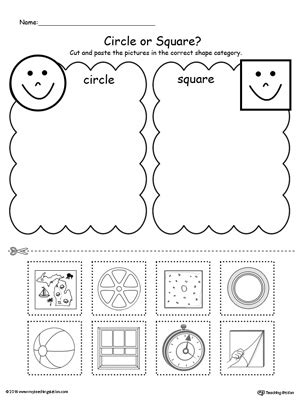 Sorting Shapes Worksheets For Kindergarten by Kindergarten Shapes Printable Worksheets