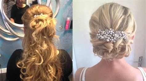wedding hair up fringe wedding guest hair up with fringe hairdresser longfield