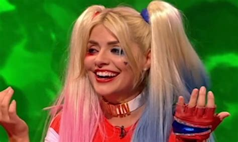 celebrity juice couples special 2018 holly willoughby as suicide squad s harley quinn on