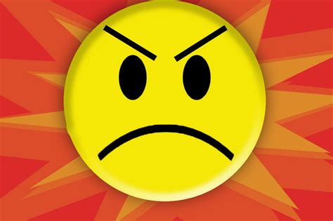 angry emoticon wallpaper mean face emoticon www imgkid com the image kid has it