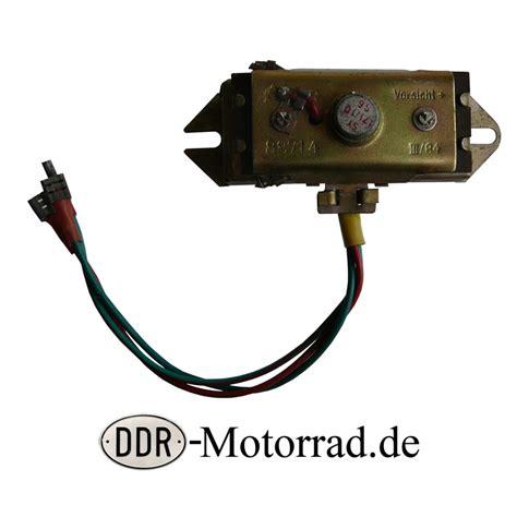 Motorrad Batterie Unterbrecher by Ladeanlage 6v Unterbrecher Z 252 Ndspule Innen Simson S50 Teile