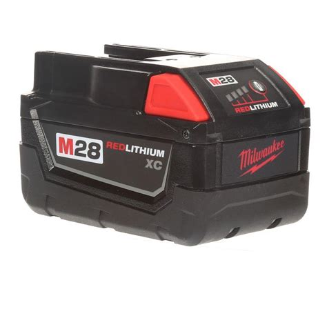 Milwaukee M28 28 Volt Lithium Ion XC Extended Capacity Battery Pack 3.0Ah 48 11 2830 The Home