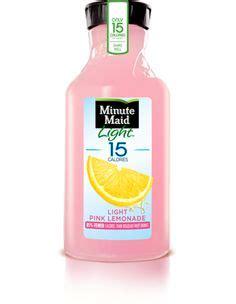 ingredients in minute light lemonade best minute pink lemonade or your favorite lemonade