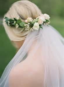 Wedding Veils With Flowers - 25 best ideas about flower crown veil on pinterest