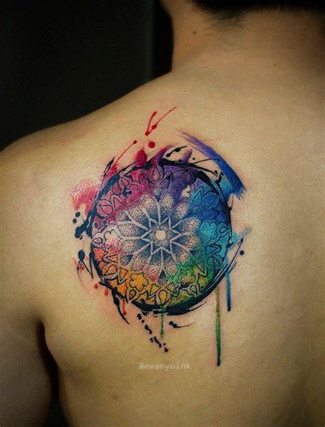 17 ideas about colorful mandala tattoo on pinterest
