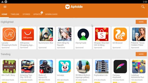 aptoide tv for pc download aptoide for pc laptop windows 10 8 7 for free