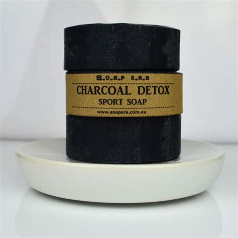 Activated Charcoal Carbon Detox by Activated Charcoal Detox Sport Soap Soap Era