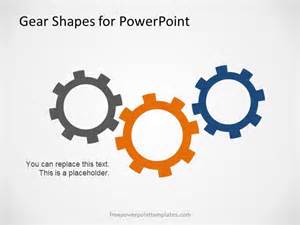 powerpoint gears template free gear shapes template for powerpoint