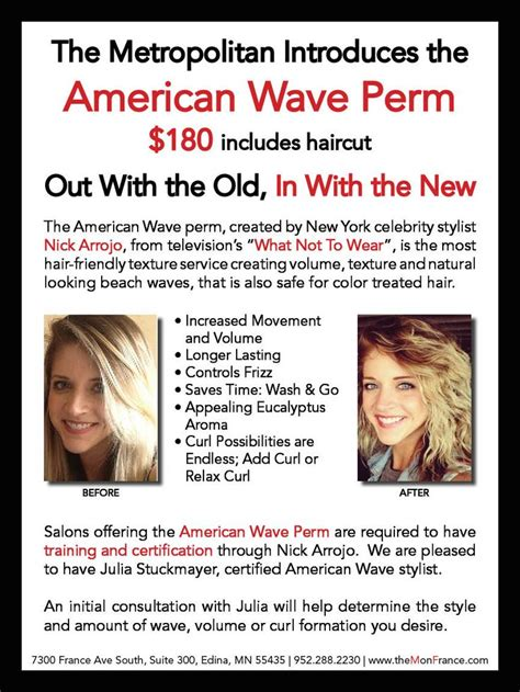 american waves perm introducing the american wave a revolutionized perm