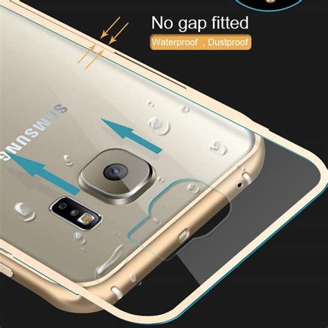 Samsung Galaxy S6 Edge Bumper Armor Hardcase Cover Casing Mewah Gagah aliexpress buy metal aluminum plastic cover capa for galaxy s6 edge plus luxury hybrid