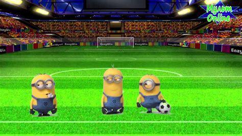 imagenes de minions jugando soccer minions jugando f 250 tbol youtube