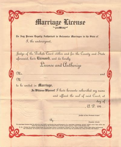 how to get a marriage license on island your guide
