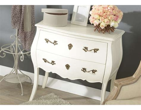 Commode Baroque Blanche by Commode Blanche Baroque 2 Tiroirs Ou Commode Romantique