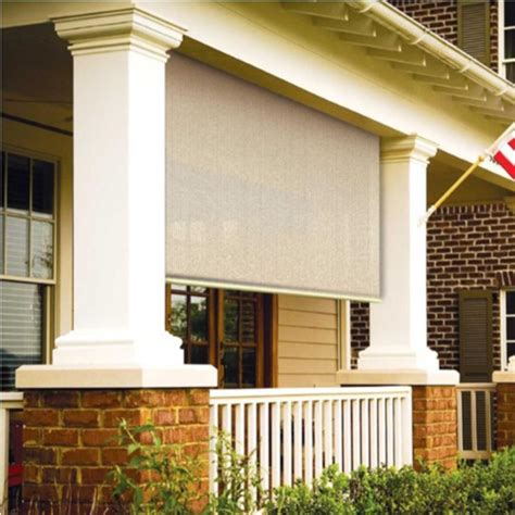 coolaroo awnings coolaroo sesame exterior roller shade 48 in w x 72 in