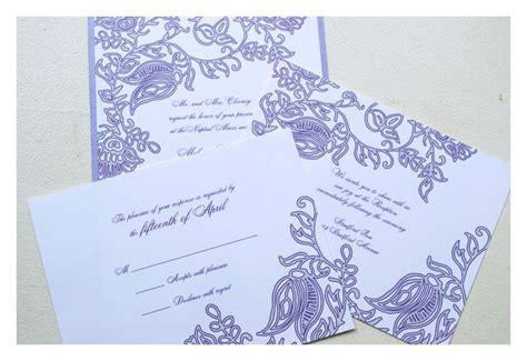 henna design invitation henna block print wedding invitations sparetire design