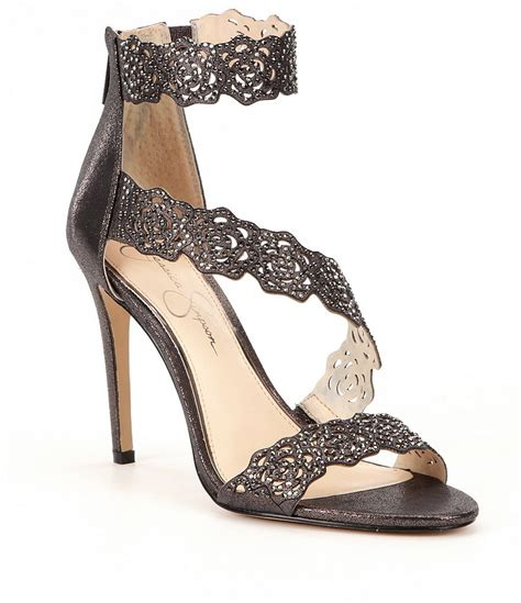 dillards shoes womens sandals geela laser cut dress sandals dillards