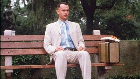 forrest gump park bench scene i really want to start being adventurous what would you