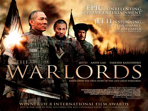film kolosal recomended the warlords in cinemas from november 7th