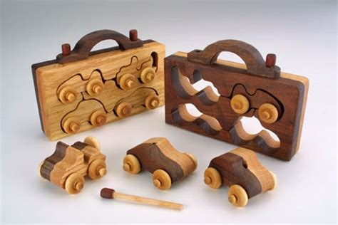 pack handmade wooden toy christmas gift