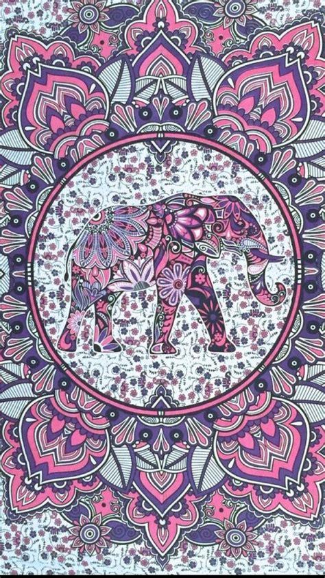 elephant pattern iphone wallpaper hispter good vibes elephant elefantes pinterest