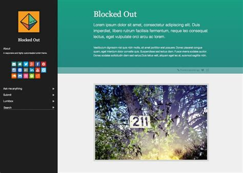 tumblr themes install free blocked out tumblr