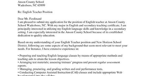 contoh surat lamaran kerja sebagai guru dalam bahasa inggris tebaru