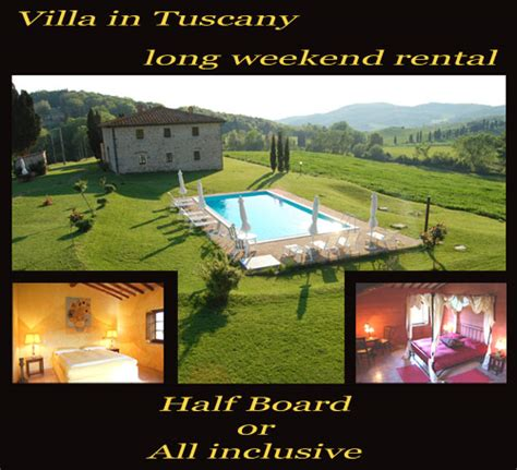 rent a house for a weekend villa in tuscany long weekend rental villa in tuscany