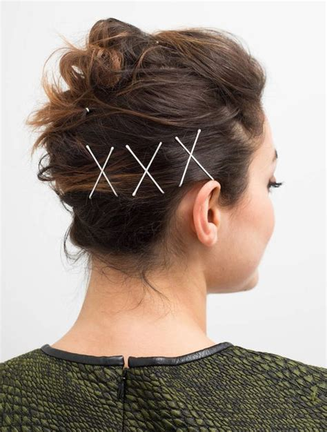 hairstyle ideas using bobby pins give your simple hairstyle wow factor with bobby pins