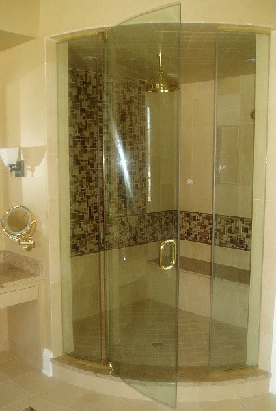 custom glass shower doors residential glass binswanger