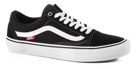 vans skool pro black white mens skateboard shoes
