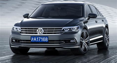 volkswagen china vw to launch phideon flagship in china this week 31 pics