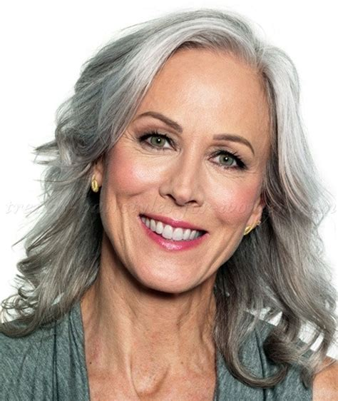 gray hair styles for 50 plus long hairstyles over 50 long grey hairstyle trendy